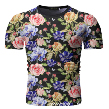 Printed men's T shirt